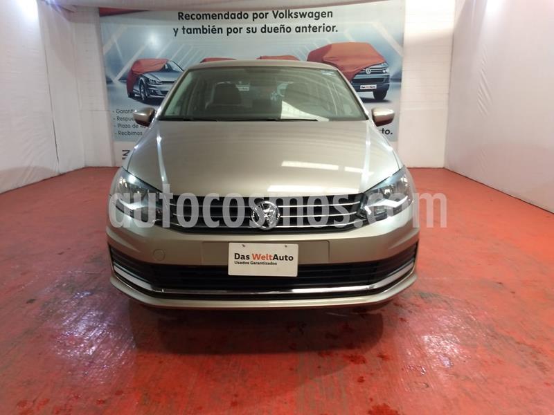 Volkswagen Vento Comfortline usado (2020) color Beige Metalico precio $223,000