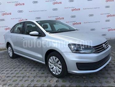 Volkswagen Vento 4p Starline L4/1.6 Man usado (2017) color Plata precio $169,001