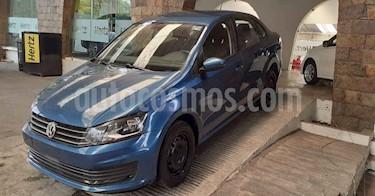 Volkswagen Vento 4p Starline L4/1.6 Aut usado (2019) color Azul precio $156,900