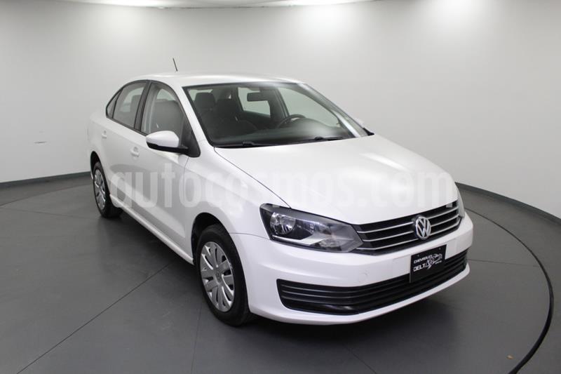 Volkswagen Vento Startline Aut usado (2019) color Blanco precio $169,000