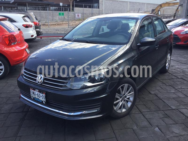 Volkswagen Vento Comfortline usado (2017) color Gris Oscuro precio $168,000