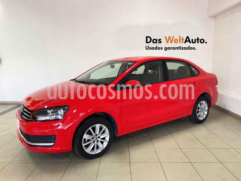 Volkswagen Vento Comfortline Aut usado (2019) color Rojo precio $217,870