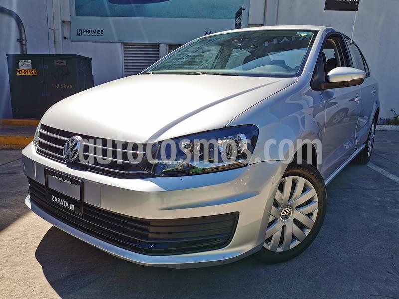 Foto Volkswagen Vento Startline Aut usado (2019) color Plata Reflex precio $185,000