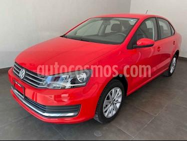 Volkswagen Vento 4p Confortline L4/1.6 Man usado (2019) color Rojo precio $208,500