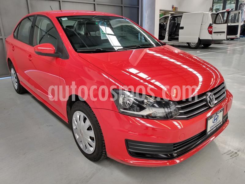 Volkswagen Vento Startline usado (2017) color Rojo precio $144,900