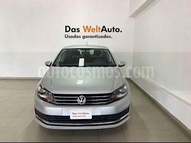 Volkswagen Vento 4p Confortline L4/1.6 Man usado (2019) color Plata precio $209,754