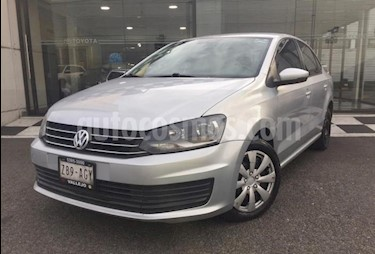 Volkswagen Vento 4P STARLINE AT A/AC. VE R-15 usado (2016) color Plata precio $145,000