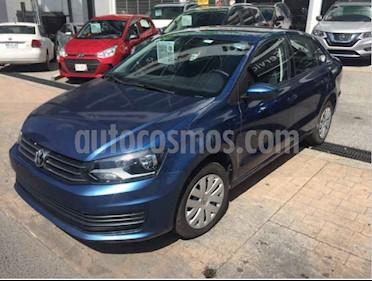 Foto Volkswagen Vento Startline Aut usado (2018) color Azul precio $159,000