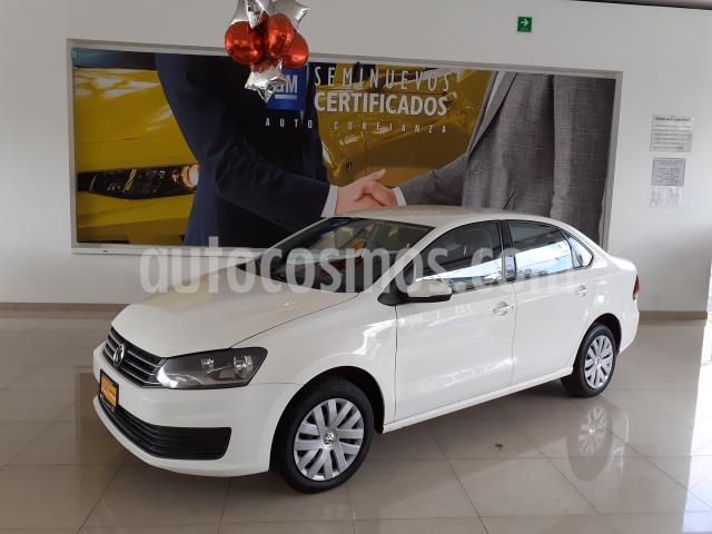 Volkswagen Vento Startline Aut usado (2018) color Blanco precio $160,900