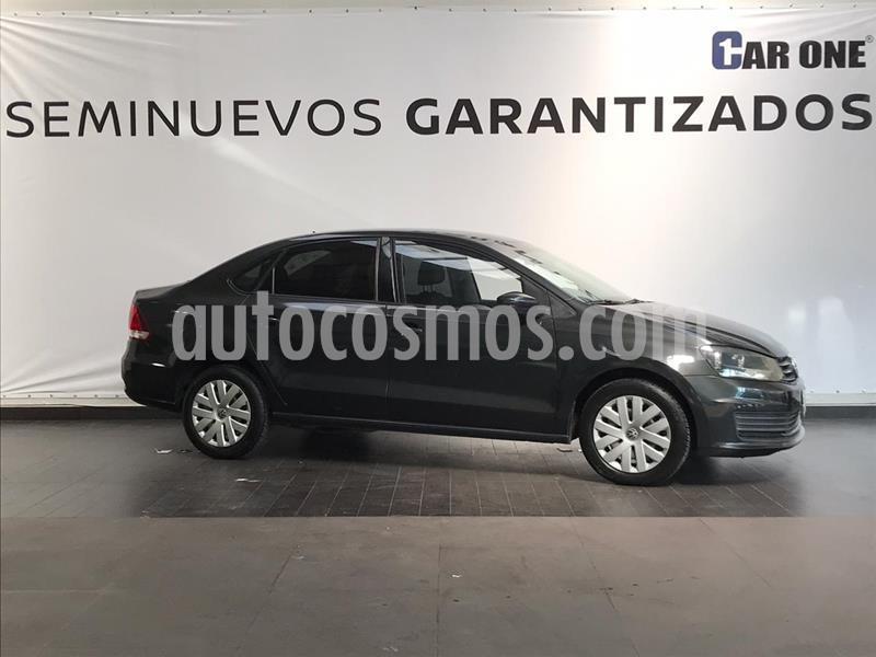 Volkswagen Vento Startline usado (2016) color Gris Carbono precio $124,900