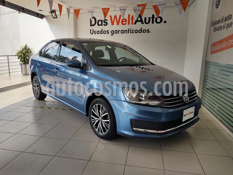 Volkswagen Vento Comfortline usado (2017) color Azul precio $169,000