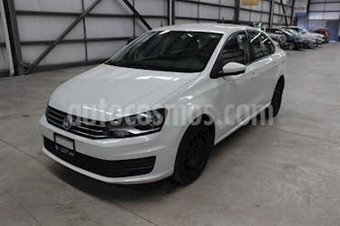 Volkswagen Vento 4p Starline L4/1.6 Aut usado (2019) color Blanco precio $189,800