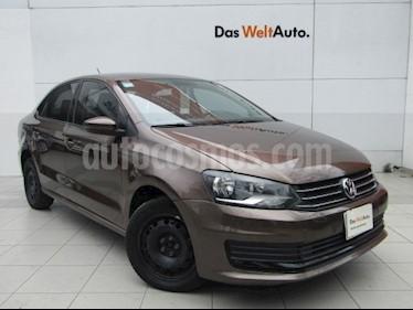 Volkswagen Vento Startline usado (2017) color Marron precio $149,000