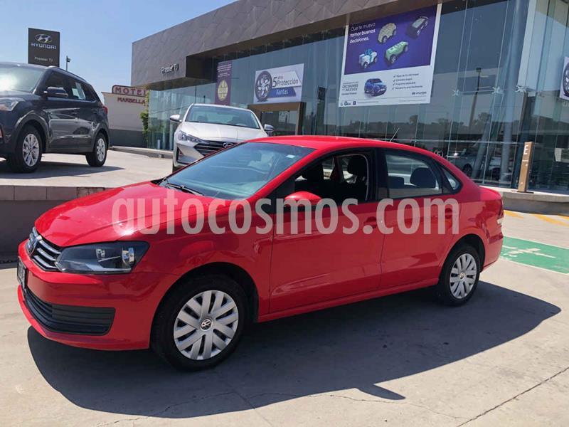Volkswagen Vento Startline Aut usado (2019) color Rojo precio $179,000
