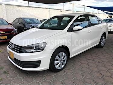 Foto Volkswagen Vento 4p Starline L4/1.6 Aut usado (2018) color Blanco precio $170,000
