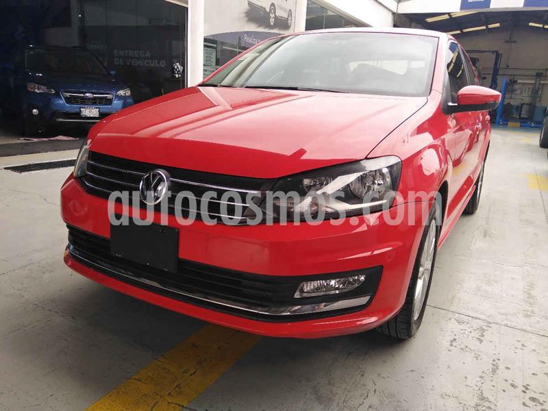Volkswagen Vento Highline Aut usado (2018) color Rojo precio $199,900