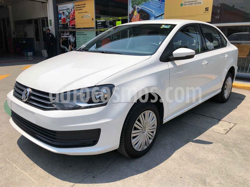 Volkswagen Vento Startline Aut usado (2020) color Blanco precio $208,990