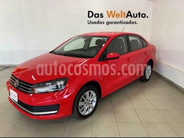 Volkswagen Vento 4p Confortline L4/1.6 Aut usado (2019) color Rojo precio $223,922