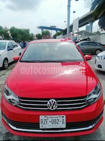 Volkswagen Vento Comfortline usado (2019) color Rojo precio $189,000