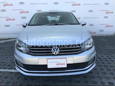Volkswagen Vento 4p Highline L4/1.6 Man usado (2017) color Plata precio $178,010