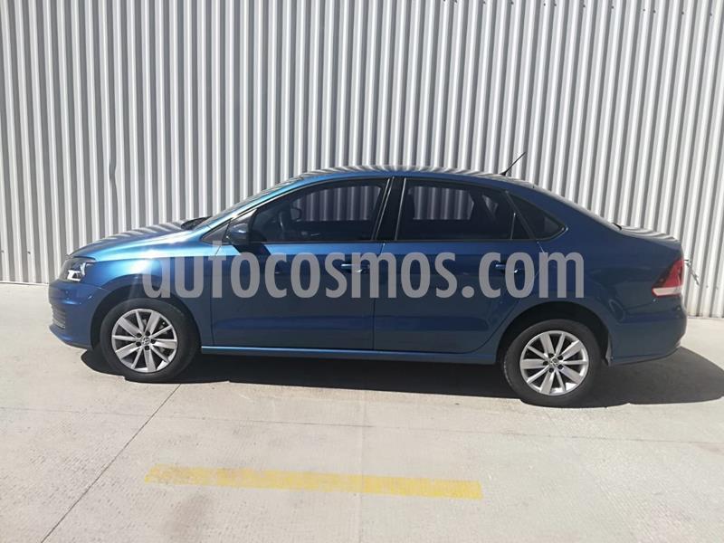 Volkswagen Vento Comfortline usado (2018) color Azul Acero precio $189,000