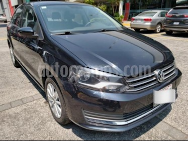 Volkswagen Vento 4P COMFORTLINE AT A/AC. VE MP3 RA-15 usado (2016) color Negro precio $145,000