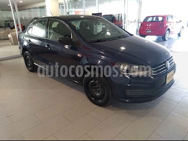Volkswagen Vento 4p Starline L4/1.6 Man usado (2017) color Azul precio $168,000