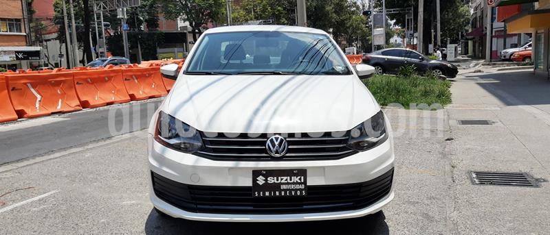 Foto Volkswagen Vento Startline Aut usado (2018) color Blanco precio $157,000