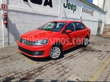 Foto Volkswagen Vento 4p Starline L4/1.6 Man usado (2016) color Rojo precio $145,000