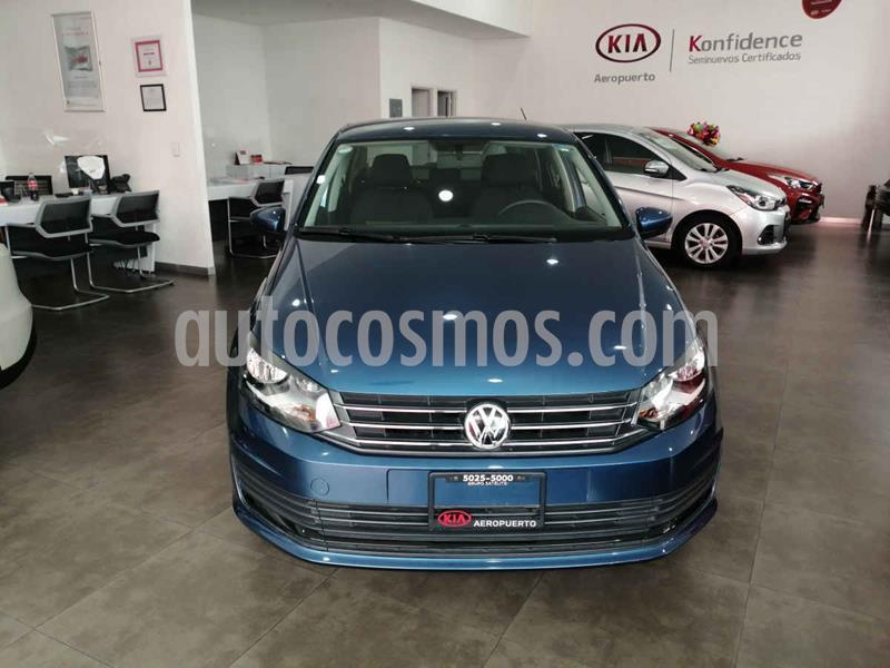 Volkswagen Vento Startline usado (2019) color Azul precio $177,000