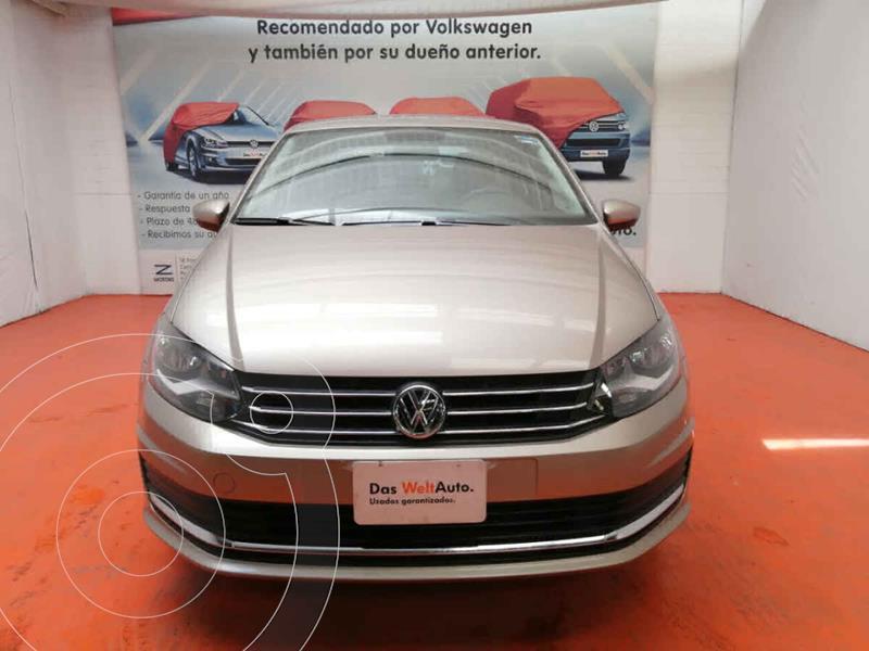 Volkswagen Vento Comfortline usado (2020) color Beige precio $229,000