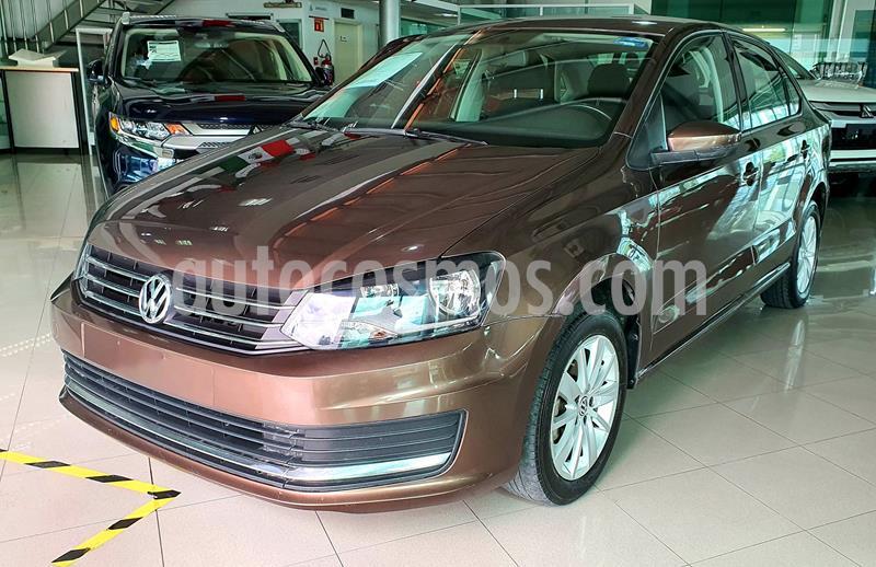 Volkswagen Vento Comfortline usado (2018) color Cafe precio $180,000