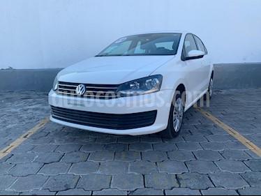 Volkswagen Vento Startline Aut usado (2019) color Blanco Candy precio $195,000