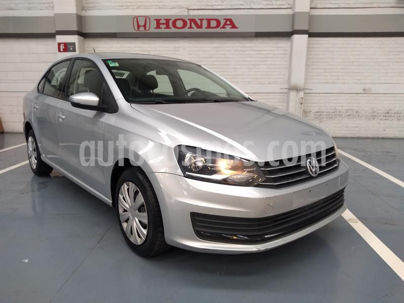 Volkswagen Vento Startline Aut usado (2019) color Plata Dorado precio $185,000