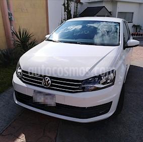 Volkswagen Vento Startline usado (2016) color Blanco Candy precio $140,000