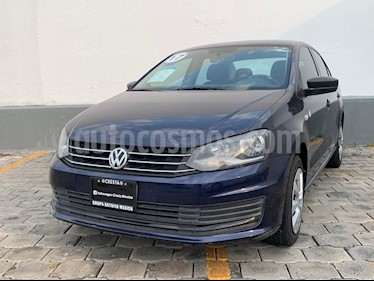 Volkswagen Vento Startline Aut usado (2017) color Azul Noche precio $159,900