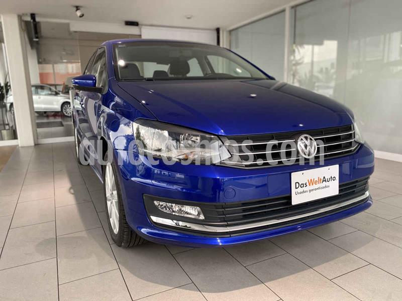 Volkswagen Vento Highline usado (2020) color Azul precio $220,000
