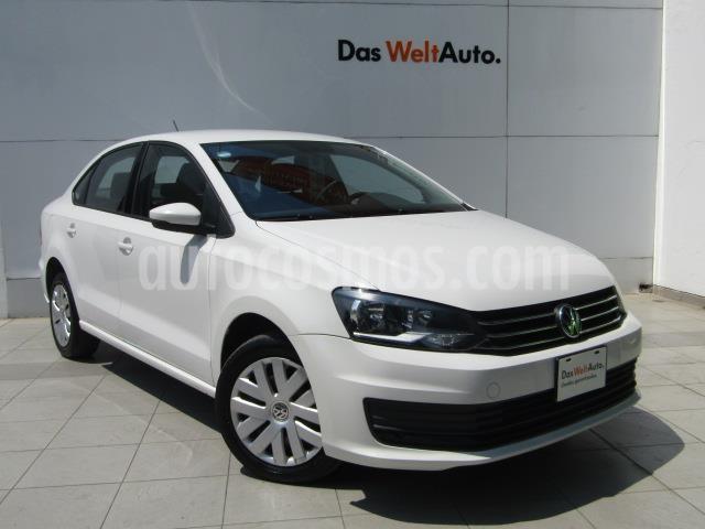 Volkswagen Vento Startline usado (2018) color Blanco Candy precio $179,000