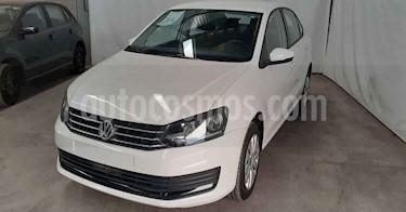 Volkswagen Vento 4p Starline L4/1.6 Aut usado (2019) color Cafe precio $169,800