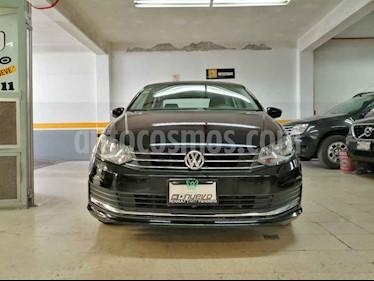 Volkswagen Vento 4p Confortline L4/1.6 Man usado (2017) color Negro precio $179,000