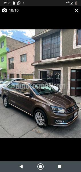 Volkswagen Vento Highline usado (2017) color Marron precio $145,000