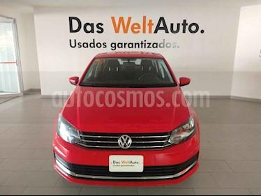 Volkswagen Vento 4p Confortline L4/1.6 Aut usado (2020) color Rojo precio $249,900