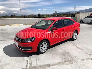 Volkswagen Vento Comfortline usado (2019) color Rojo Flash precio $220,000