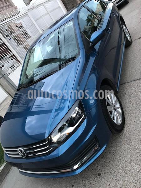 Volkswagen Vento Comfortline usado (2018) color Azul Noche precio $176,000