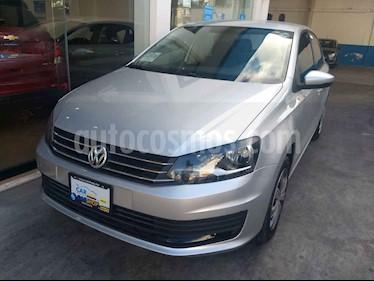 Volkswagen Vento Startline Aut usado (2019) color Plata precio $179,800