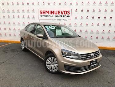 Volkswagen Vento Startline Aut usado (2018) color Bronce precio $179,000