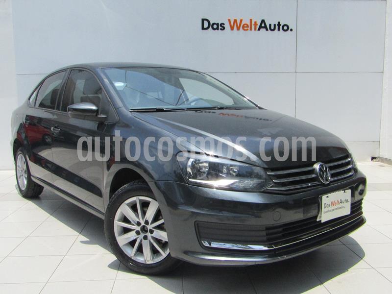 Volkswagen Vento Comfortline usado (2019) color Gris Carbono precio $189,000