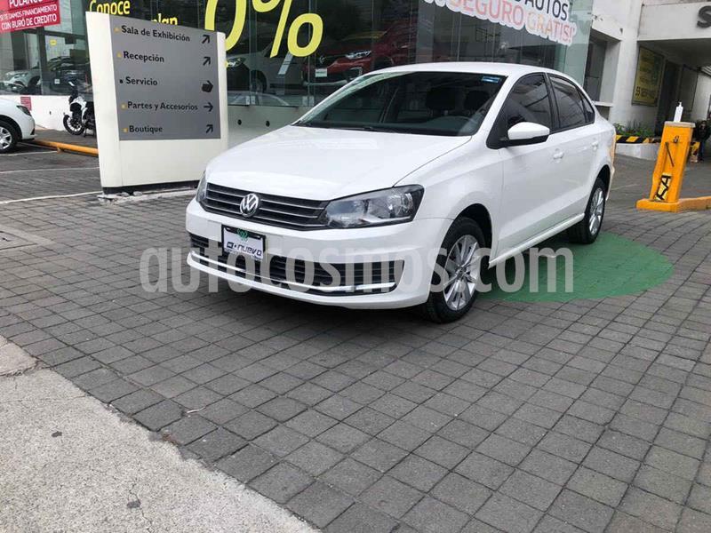 Volkswagen Vento Version usado (2018) color Blanco precio $189,000