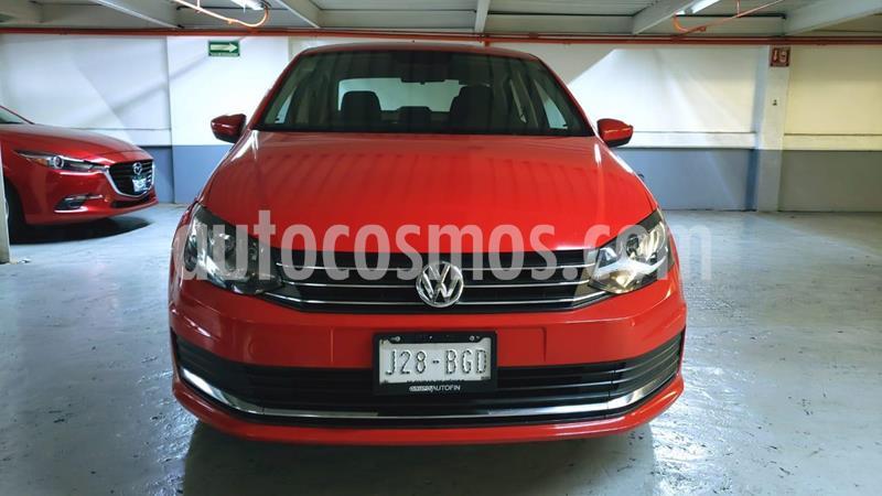 Volkswagen Vento Comfortline Aut usado (2018) color Rojo Flash precio $215,000