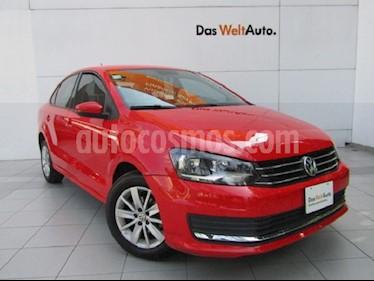 Volkswagen Vento Comfortline usado (2017) color Rojo Flash precio $159,000